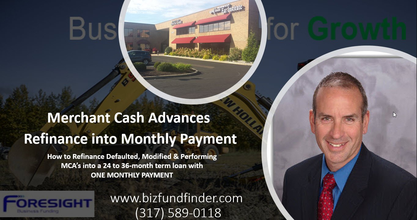 MCA Refinance and save monthly cash flow