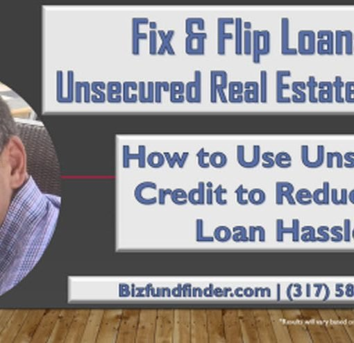 Unsecured real estate loans